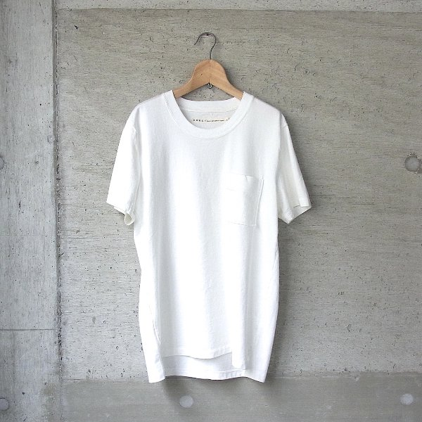 CURLY | BRIGHT SS POCKET TEE(WHITE)