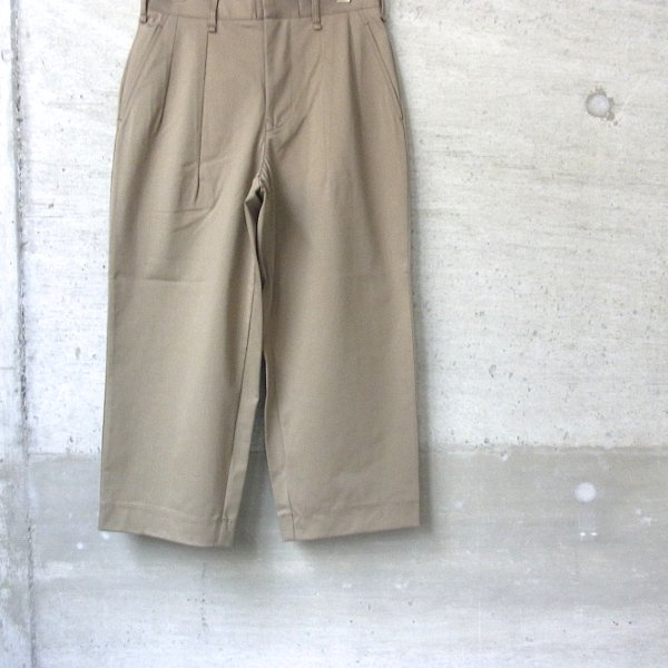 CURLY | ADVANCE WIDE TROUSERS(OLIVE)