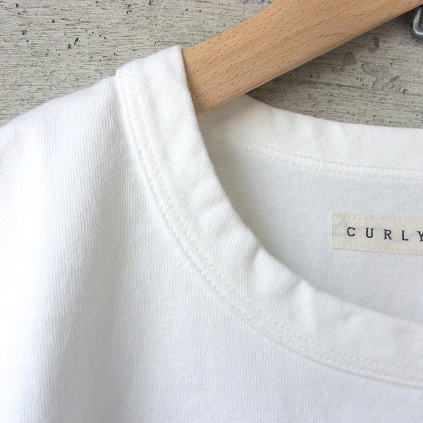 CURLY | ADVANCE HS TEE(WHITE)
