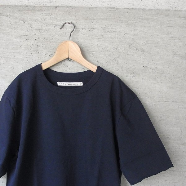 CURLY | ADVANCE HS TEE(NAVY)