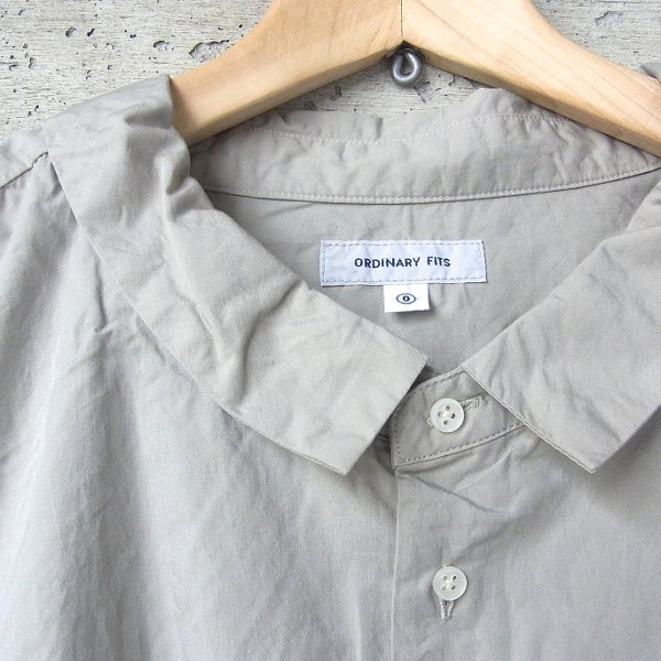 Ordinary fits | BARBER SHIRTS(LGY)