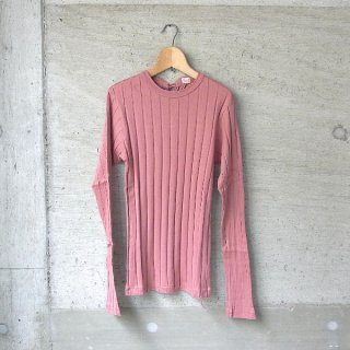 YOUNG & OLSEN The DRYGOODS STORE | BROAD RIB BACKLACE LS(ROSE)