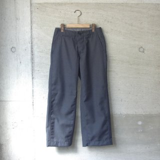 Ordinary fits | NEW PARK TROUSER wool(CHARCOAL)