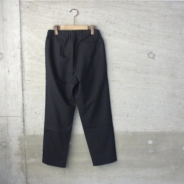 ian | drawcord trousers(black)