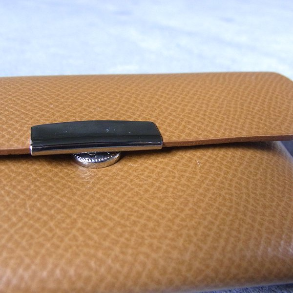 DIGAWEL | CARD CASE CALF LEATHER(CAMEL)