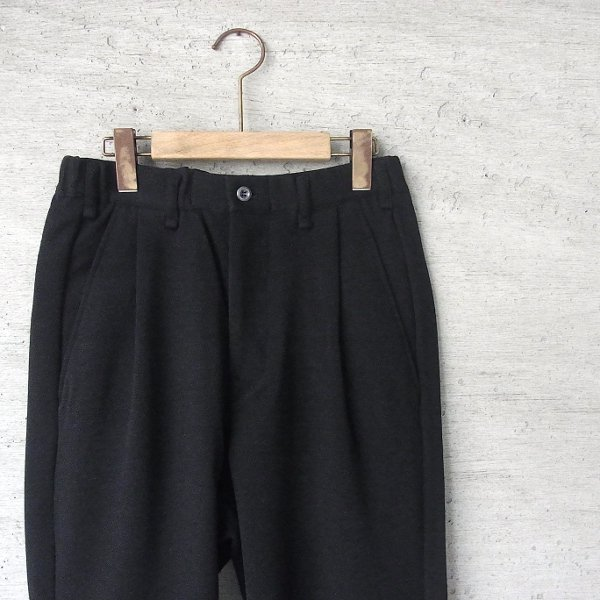 CURLY | FROSTED WIDE TROUSERS(BLACK)