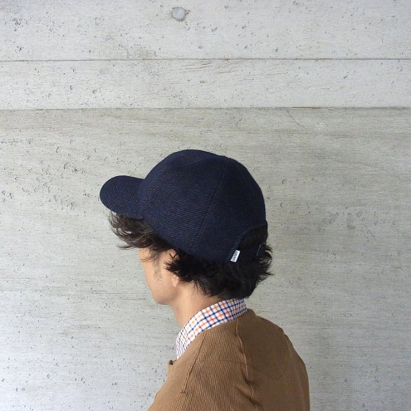 CURLY | BLEECKER CAP(NAVY)