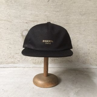 DIGAWEL | NOT PARIS CAP(BLACK)