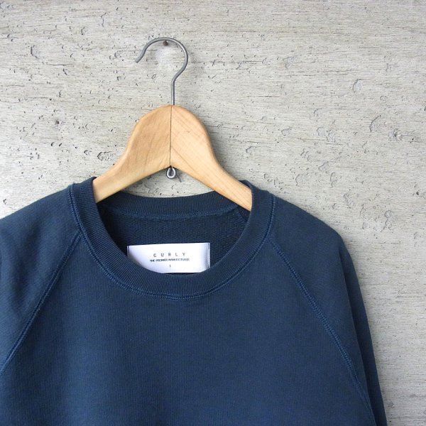 CURLY | FROSTED CREW SWEAT(BONDI BLUE)