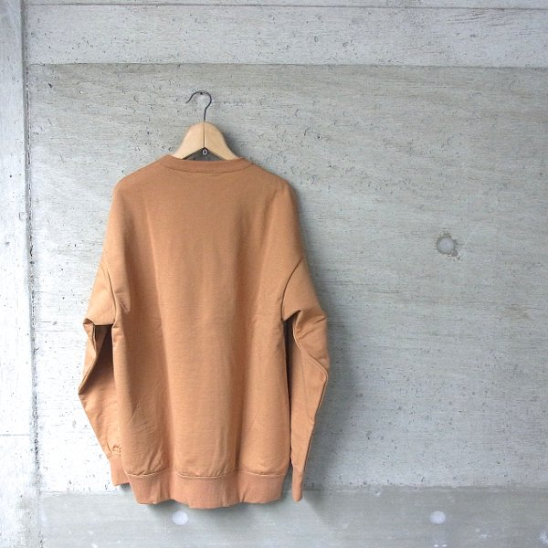 DIGAWEL | SWEAT SHIRT(CAMEL)