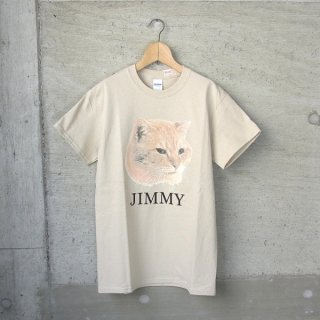 YOUNG & OLSEN The DRYGOODS STORE | AMERICAN PRINTED TEE(JIMMY THE CAT)