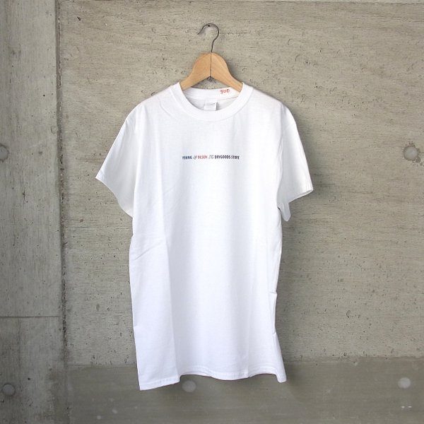 YOUNG & OLSEN The DRYGOODS STORE | Y&O TITLE TEE(WHITE)