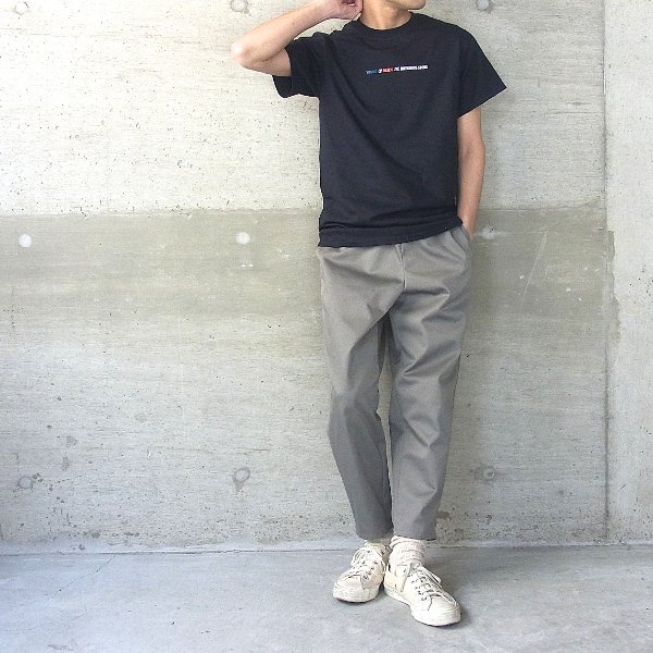 YOUNG & OLSEN The DRYGOODS STORE | Y&O TITLE TEE(BLACK)