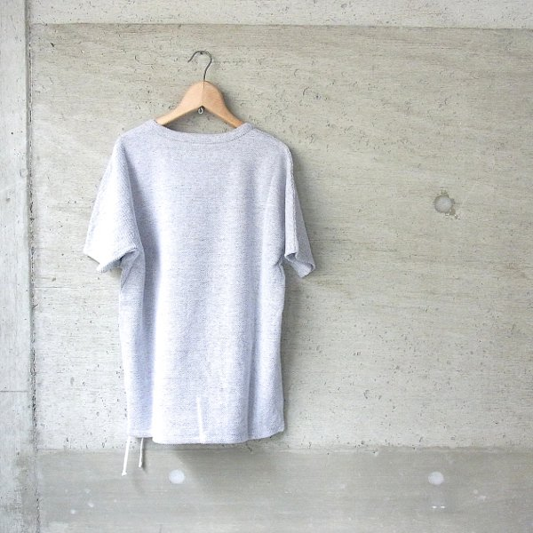 CURLY | NOMADIC DS SWEAT(WHITE/GRAY)