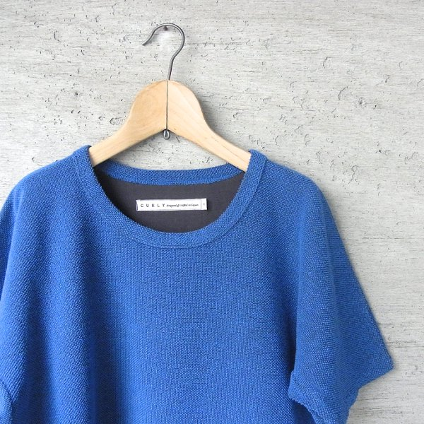 CURLY | NOMADIC DS SWEAT(BLUE/CHARCOAL)