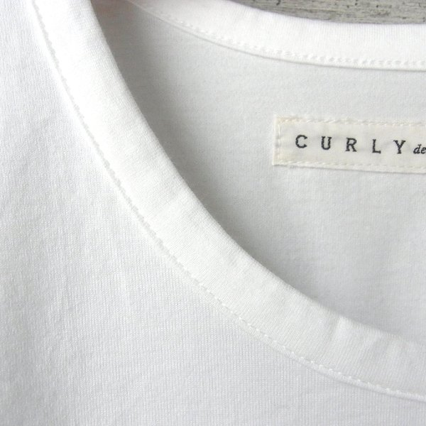 CURLY | SDH HS CN TEE(WHITE)