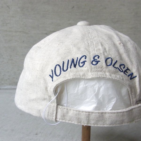 YOUNG & OLSEN The DRYGOODS STORE | JIMMY THE CAT BB CAP(NATURAL)