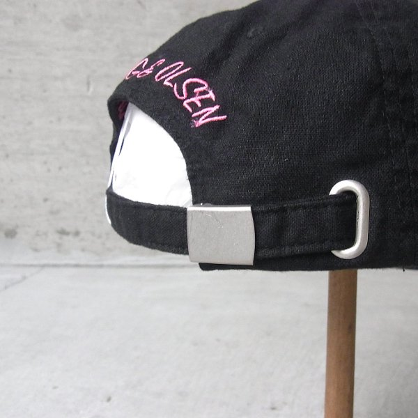 YOUNG & OLSEN The DRYGOODS STORE | JIMMY THE CAT BB CAP(BLACK)