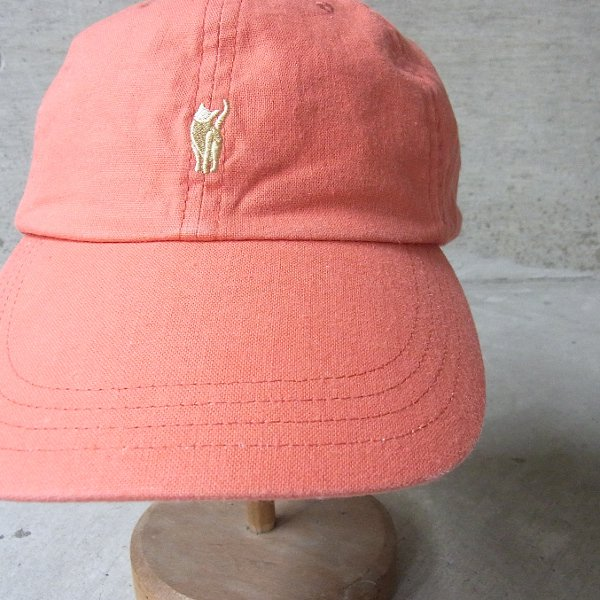 YOUNG & OLSEN The DRYGOODS STORE | JIMMY THE CAT BB CAP(PINK)