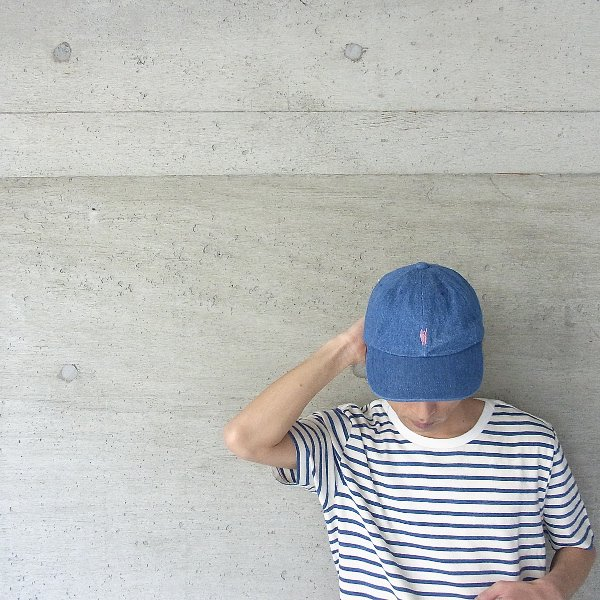 YOUNG & OLSEN The DRYGOODS STORE | JIMMY THE CAT BB CAP(DENIM)