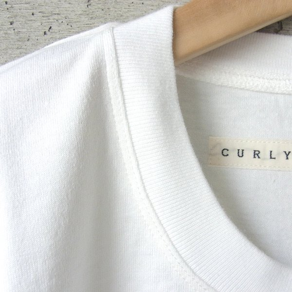 20%OFF | CURLY | HELICAL SS TEE(WHITE)