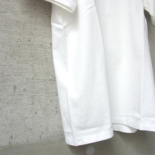 CURLY | HELICAL SS TEE(WHITE)