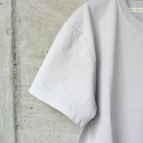 20%OFF | CURLY | HELICAL SS TEE(LT.GRAY)
