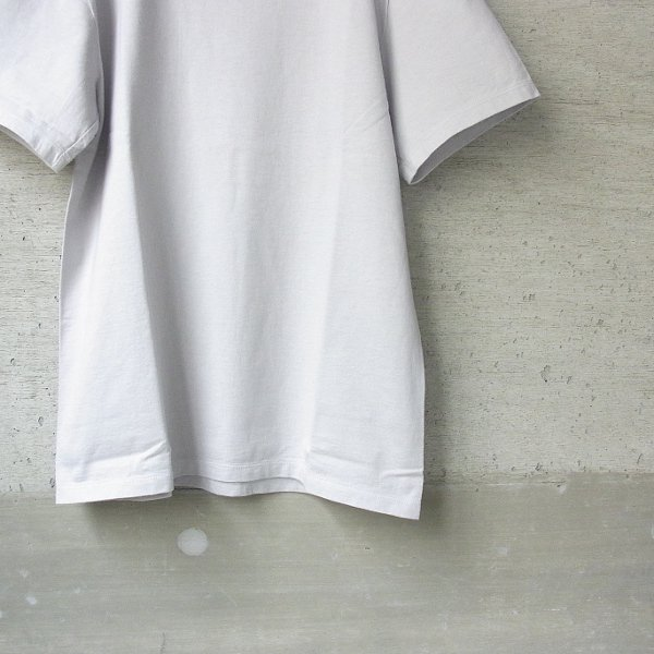 CURLY | HELICAL SS TEE(LT.GRAY)