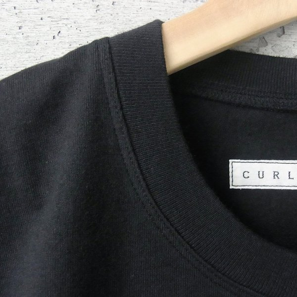 20%OFF | CURLY | HELICAL SS TEE(BLACK)