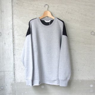 DIGAWEL | SWITCH SWEATSHIRT(TOP GRAY/BLACK)