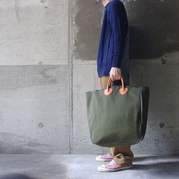 YOUNG & OLSEN The DRYGOODS STORE | CANVAS CARRYALL TOTE(WEED)