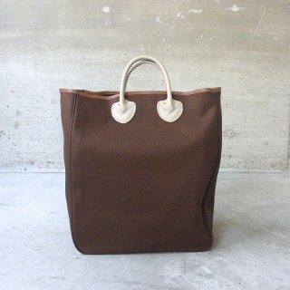 YOUNG & OLSEN The DRYGOODS STORE | CANVAS CARRYALL TOTE(BROWN)