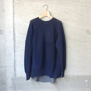 DIGAWEL | SWITCH SWEATER(NAVY)