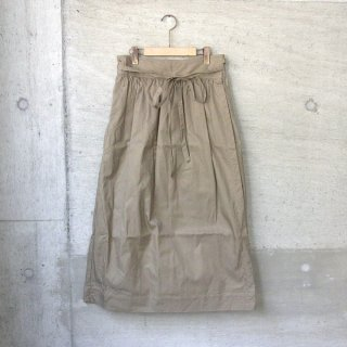 Ordinary fits | LONG APLON SKIRT chino(CAM)