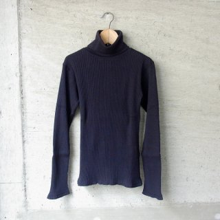 【40%OFFセール】YOUNG & OLSEN The DRYGOODS STORE | ZINC RIB TURTLE NECK(BLACK)
