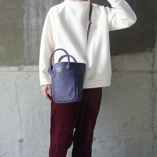 YOUNG & OLSEN The DRYGOODS STORE | PETITE LEATHER TOTE(PURPLE)
