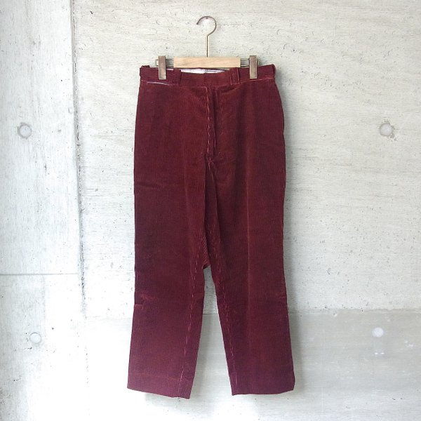 YOUNG & OLSEN The DRYGOODS STORE | UNCLE SAM'S CORD TROUSER(WINE)