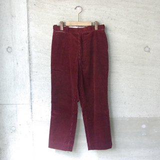 【30%OFFセール】YOUNG & OLSEN The DRYGOODS STORE | UNCLE SAM'S CORD TROUSER(WINE)