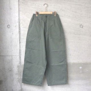 【30%OFFセール】Ordinary fits | PIPE FATIGUE PANTS(KHK)
