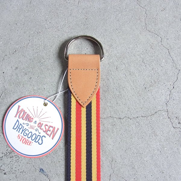 YOUNG & OLSEN The DRYGOODS STORE | HORSE WEBBING BELT(TAN)