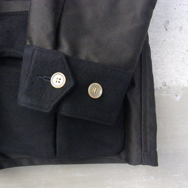 DIGAWEL | POCKET SHIRT JACKET(BLACK)