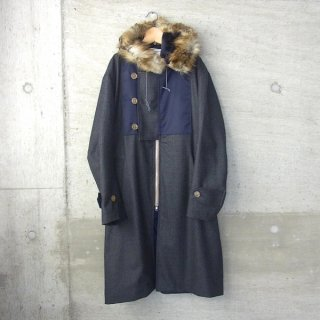 DIGAWEL | MIX COAT�(GRAY CHECK)