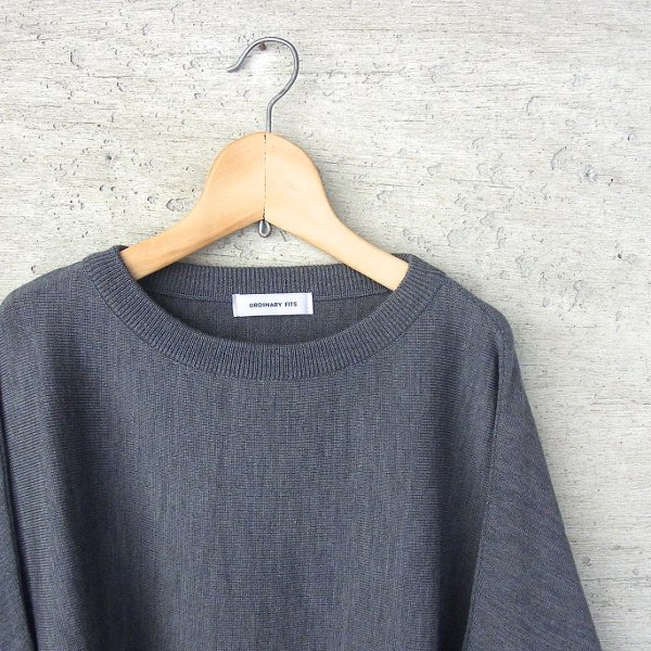 Ordinary fits | PULL BARBER KNIT(CCL)