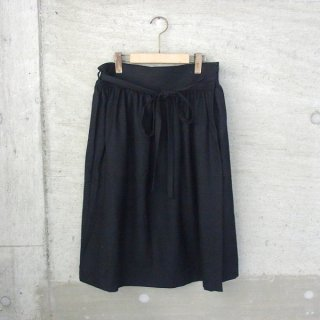 Ordinary fits | APLON SKIRT wool(BLK)