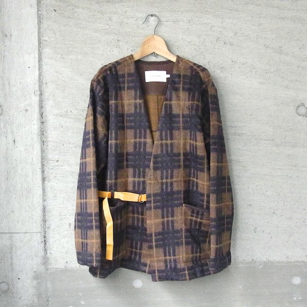 【30%OFFセール】CURLY | HOXTON NC CARDE(BROWN CHECK)