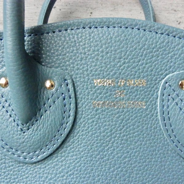 YOUNG & OLSEN The DRYGOODS STORE | PETITE LEATHER TOTE(HYDRO)