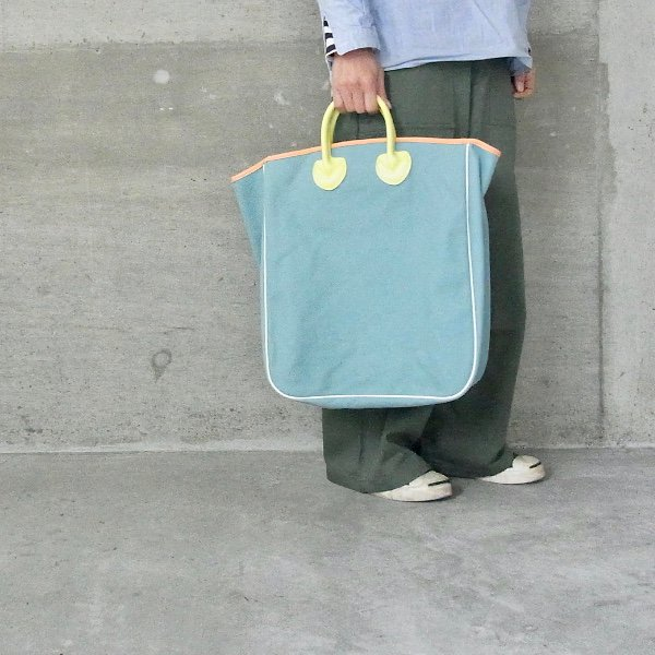 【予約商品】YOUNG & OLSEN The DRYGOODS STORE | CANVAS CARRYALL TOTE(TURQUOISE)