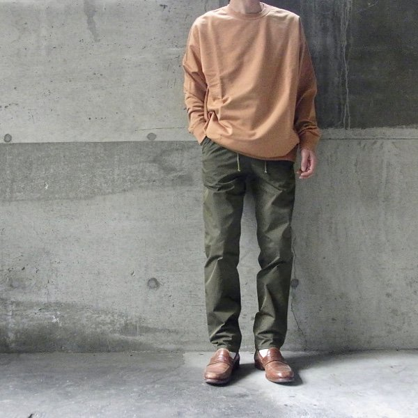 DIGAWEL | SLIM EASY PANTS(OLIVE)