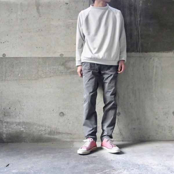 DIGAWEL | SLIM EASY PANTS(GRAY)