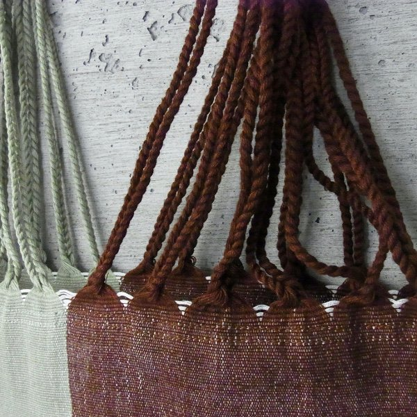 pips | HAMMOCK BAG(HB-013 GREEN x BROWN)